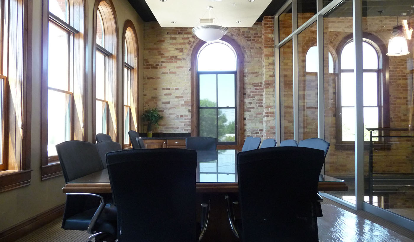 photo: Office Board Room Historic